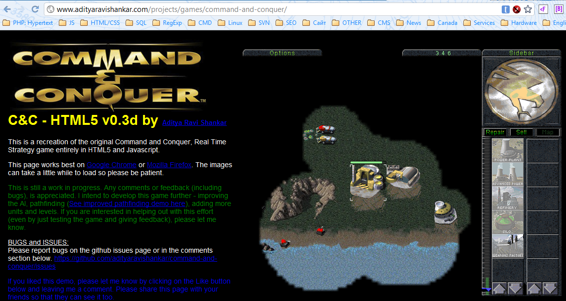 Command and Conquer HTML5