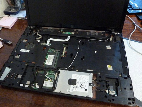 Почистил ноутбук 4710s